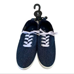 NEW Ardene Canvas Shoes size 8